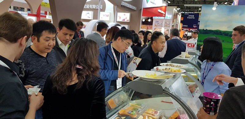 China - UK's 8th largest market for UK Food and Drink Exports