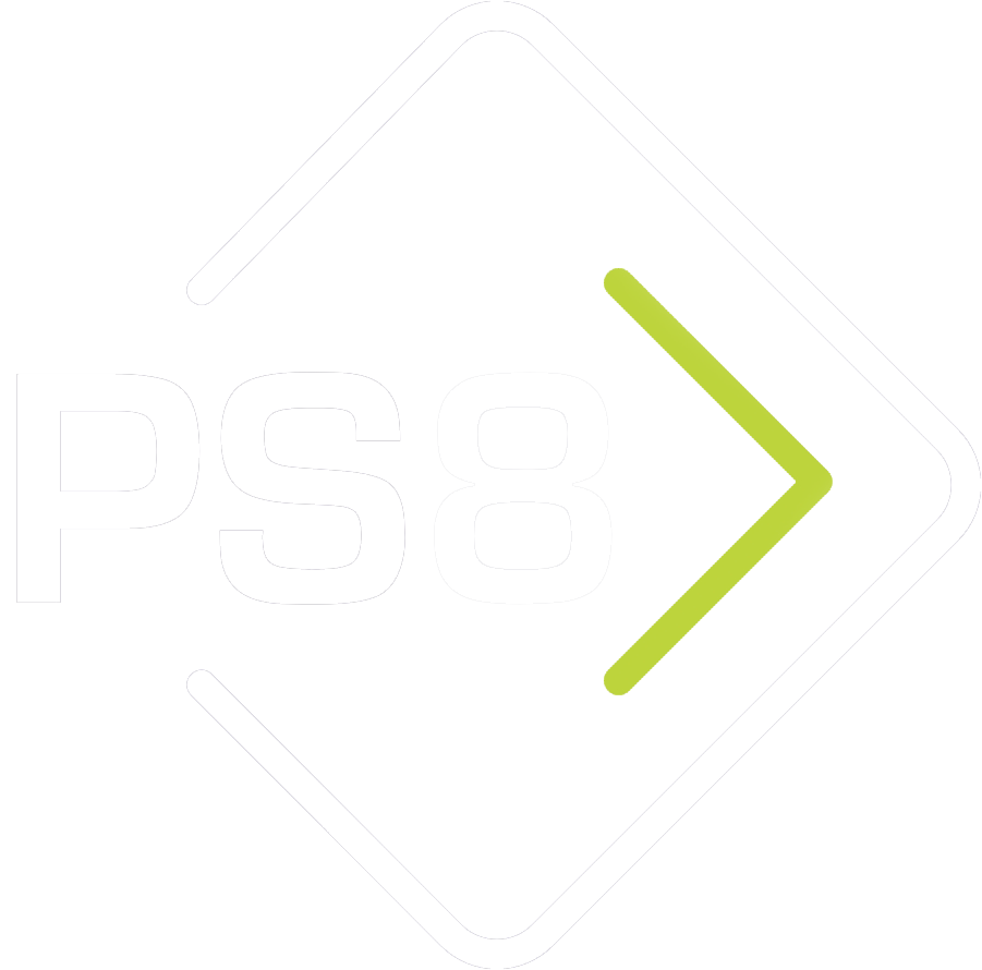 PS8 - The exhibition and event management specialists logo
